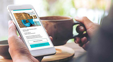 Webshop Relaunch for Motel One